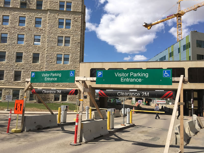 Parking Problems Expected at RUH Parkade Today