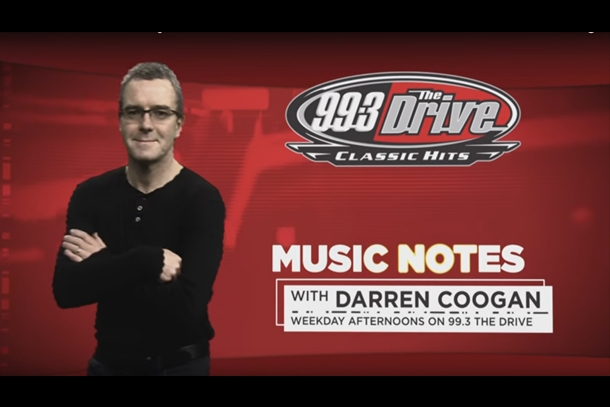 Drive Music Notes w/ Darren Coogan May 9th