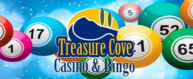 Mini Super Bingo at the Treasure Cove Casino