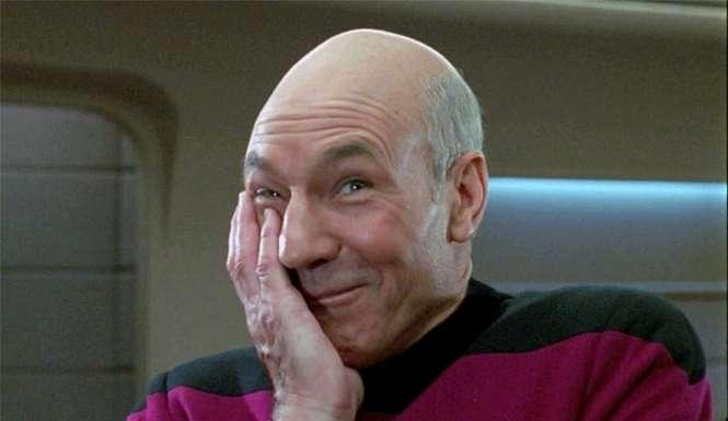 Patrick Stewart sings Rawhide for charity.