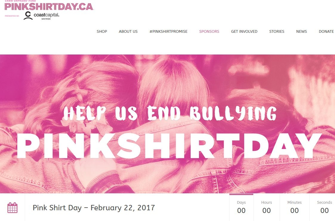 pinkshirtday