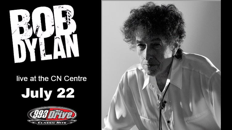 Bob Dylan at CN Centre July 22