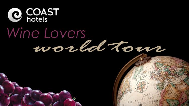 Coast Inn of the North's Wine Lovers World Tour