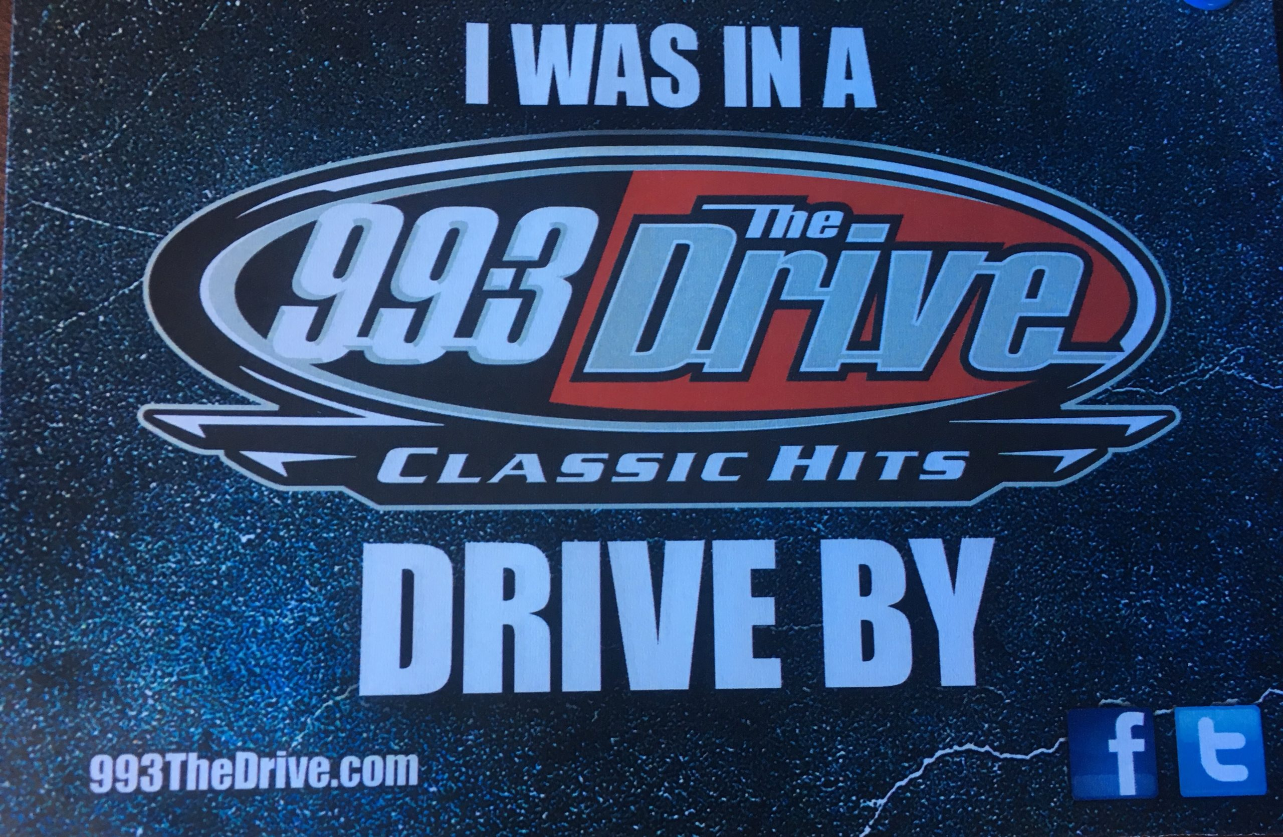 99.3 The Drive's Drive By!