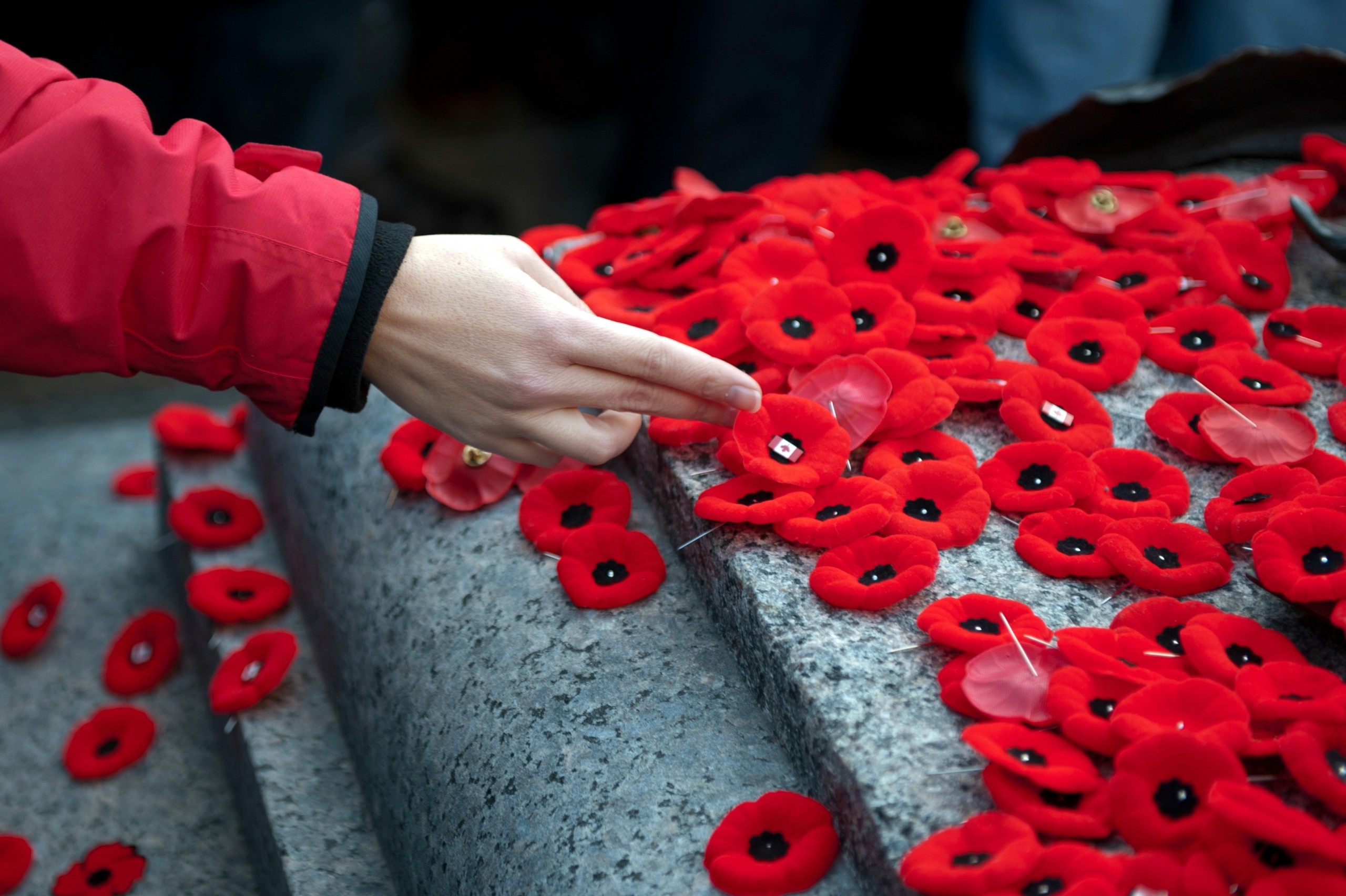 Remembrance Day Ceremony at Woodroffe Campus