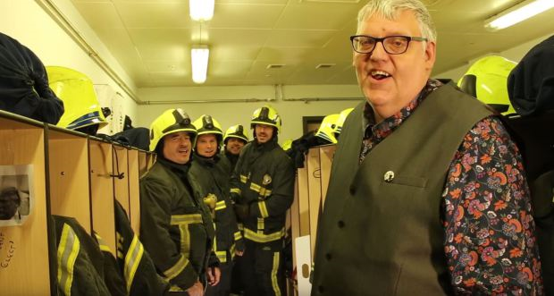 Firefighters make song to stop you from burning your house