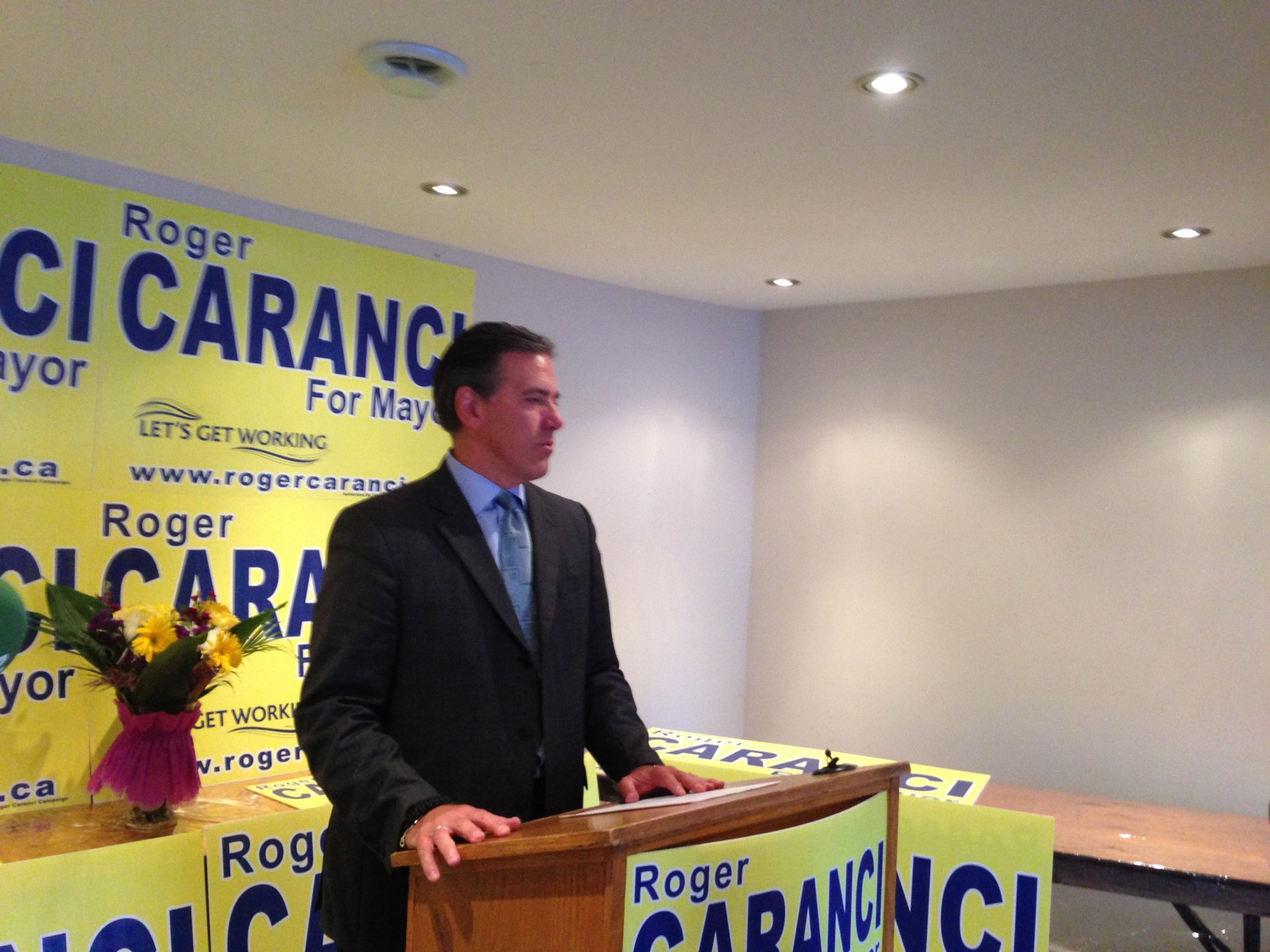 Caranci wants to review city assets and what it funds