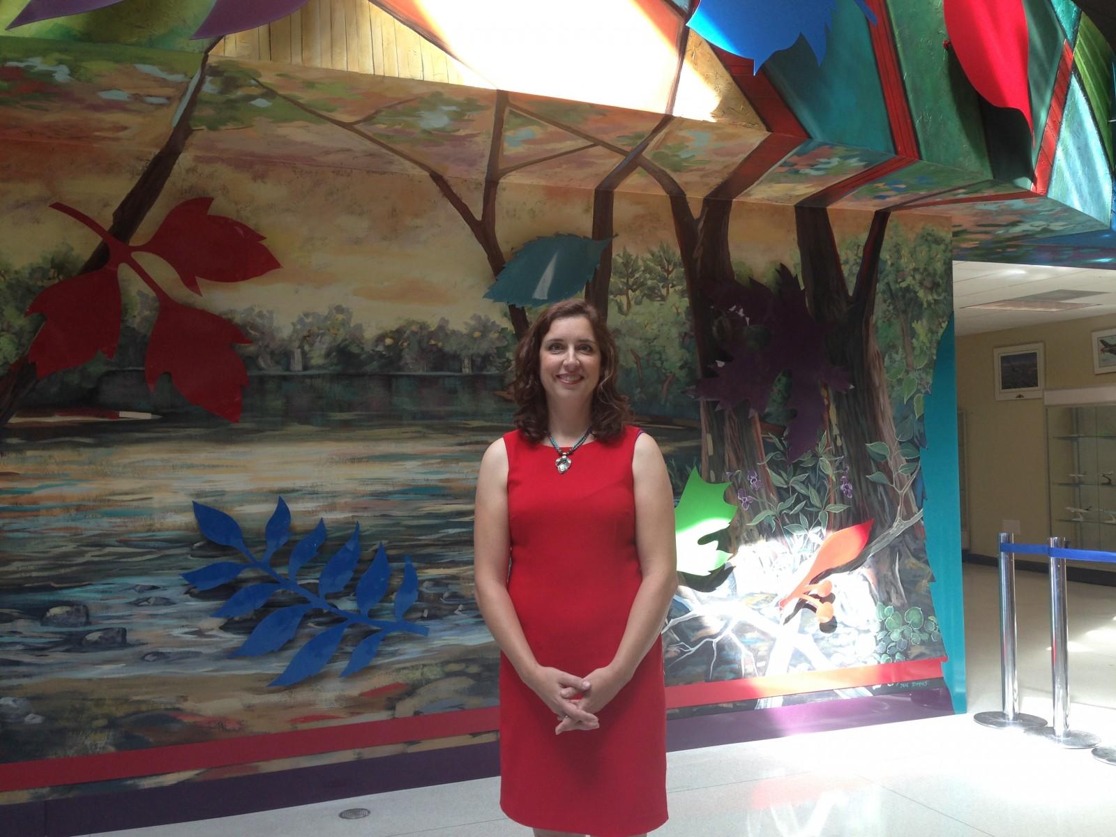 New art exhibit at London Airport