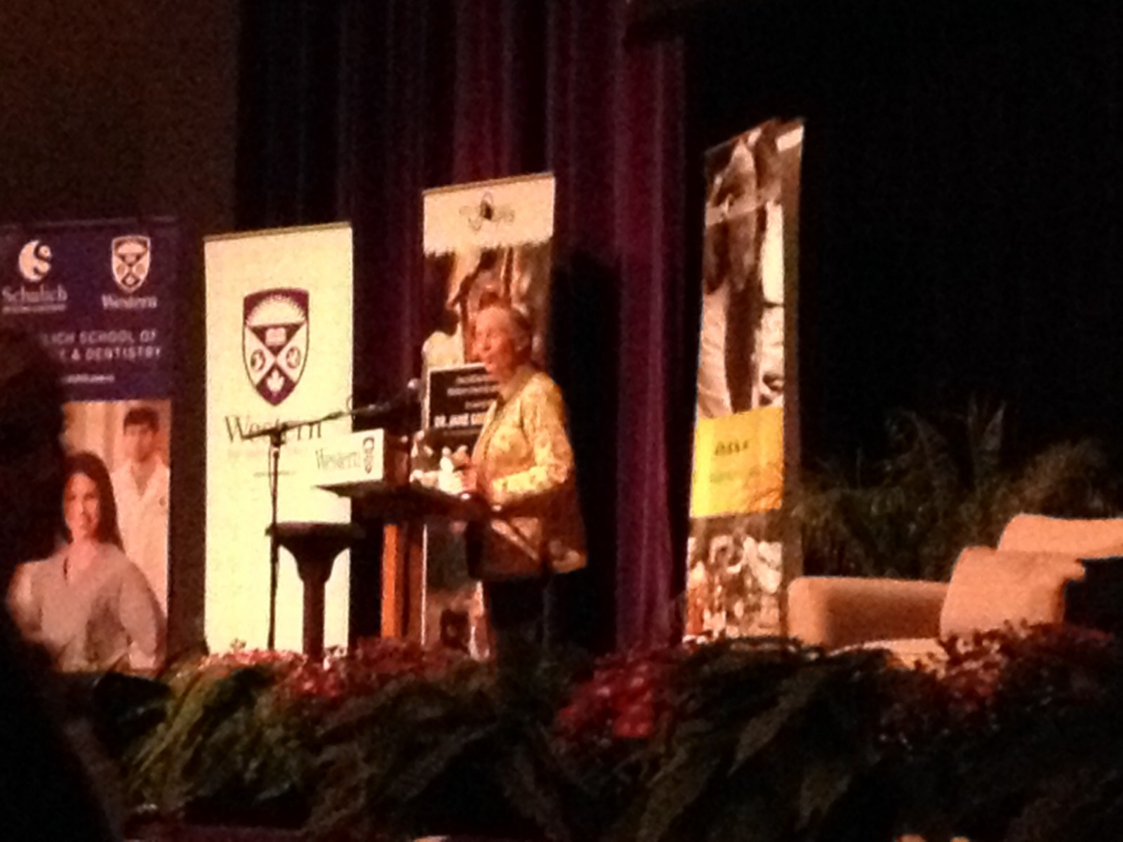 Jane Goodall offers call to action during Western lecture