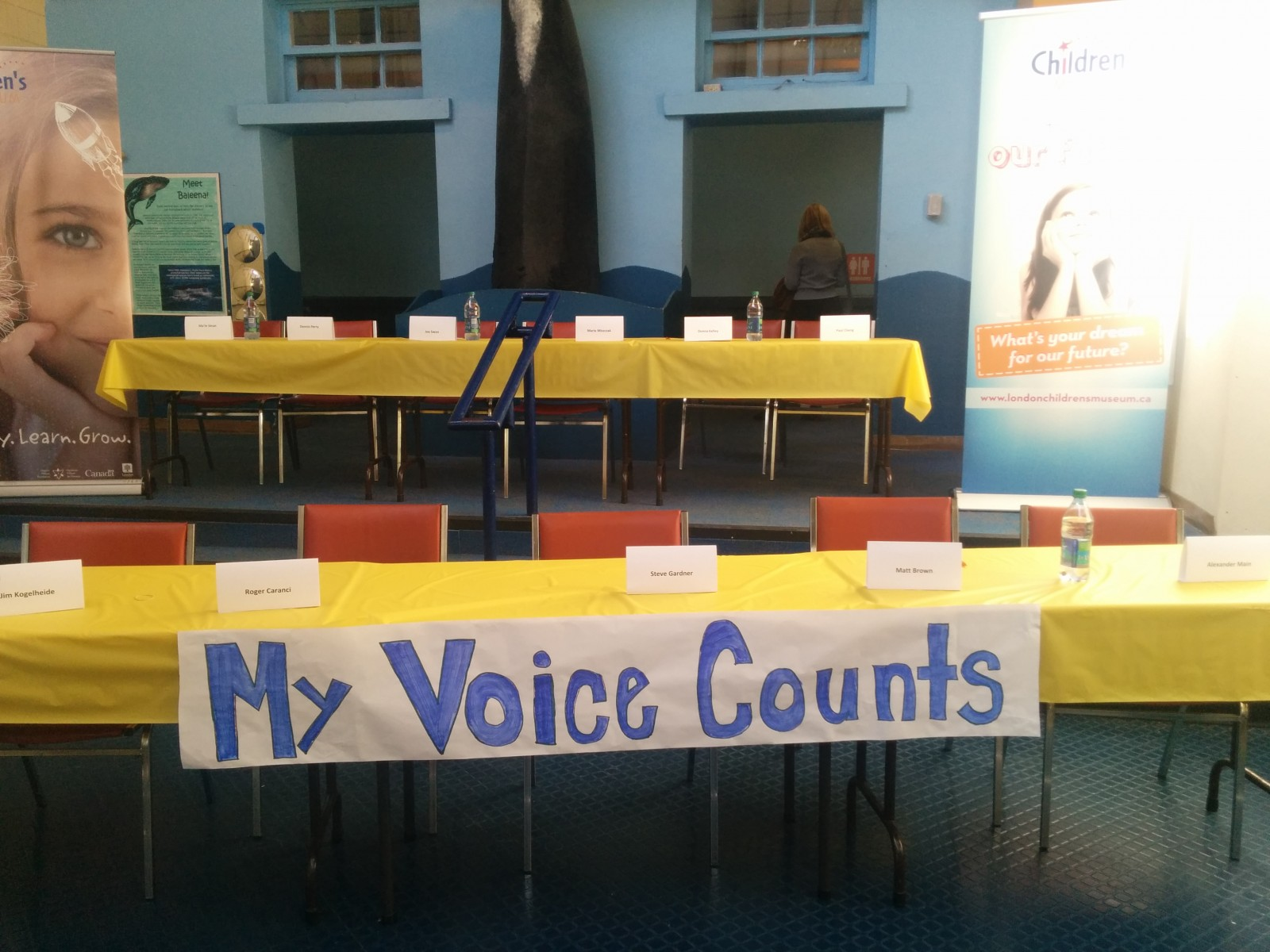 Young Students Learn the Ins and Outs of Municipal Election