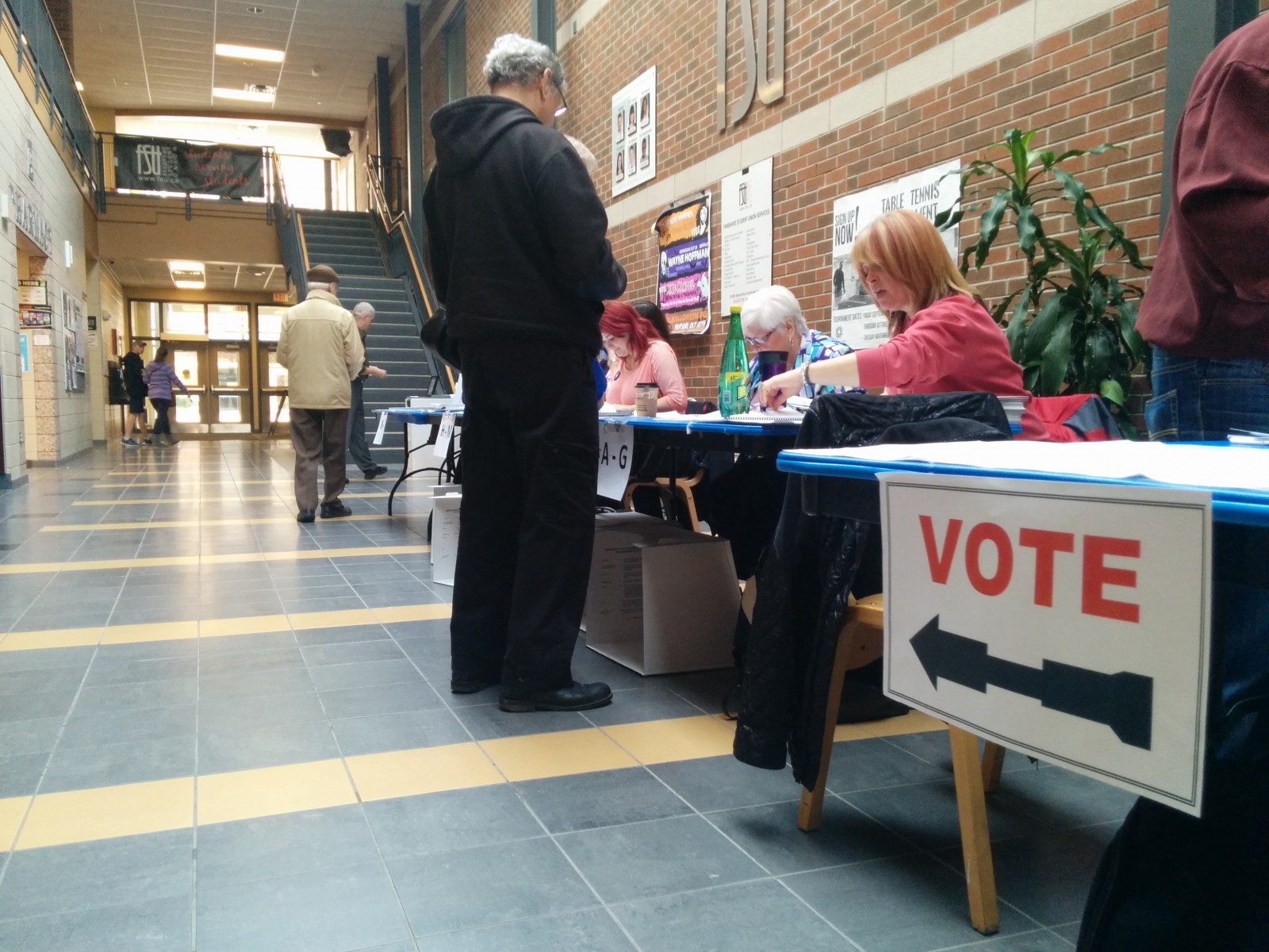 Fanshawe College polling station open for business