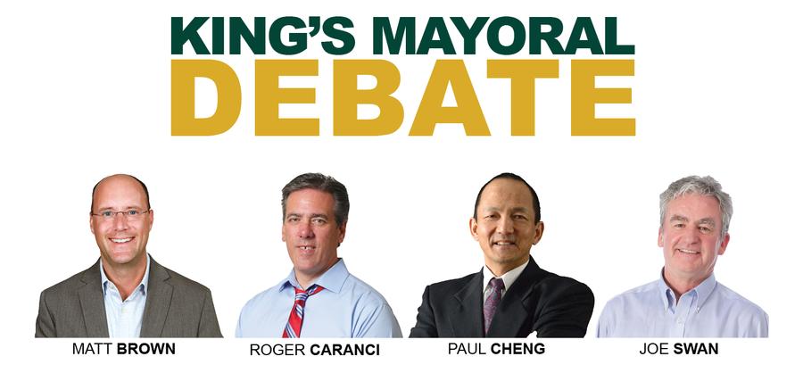 PREVIEW: King's Mayoral Debate