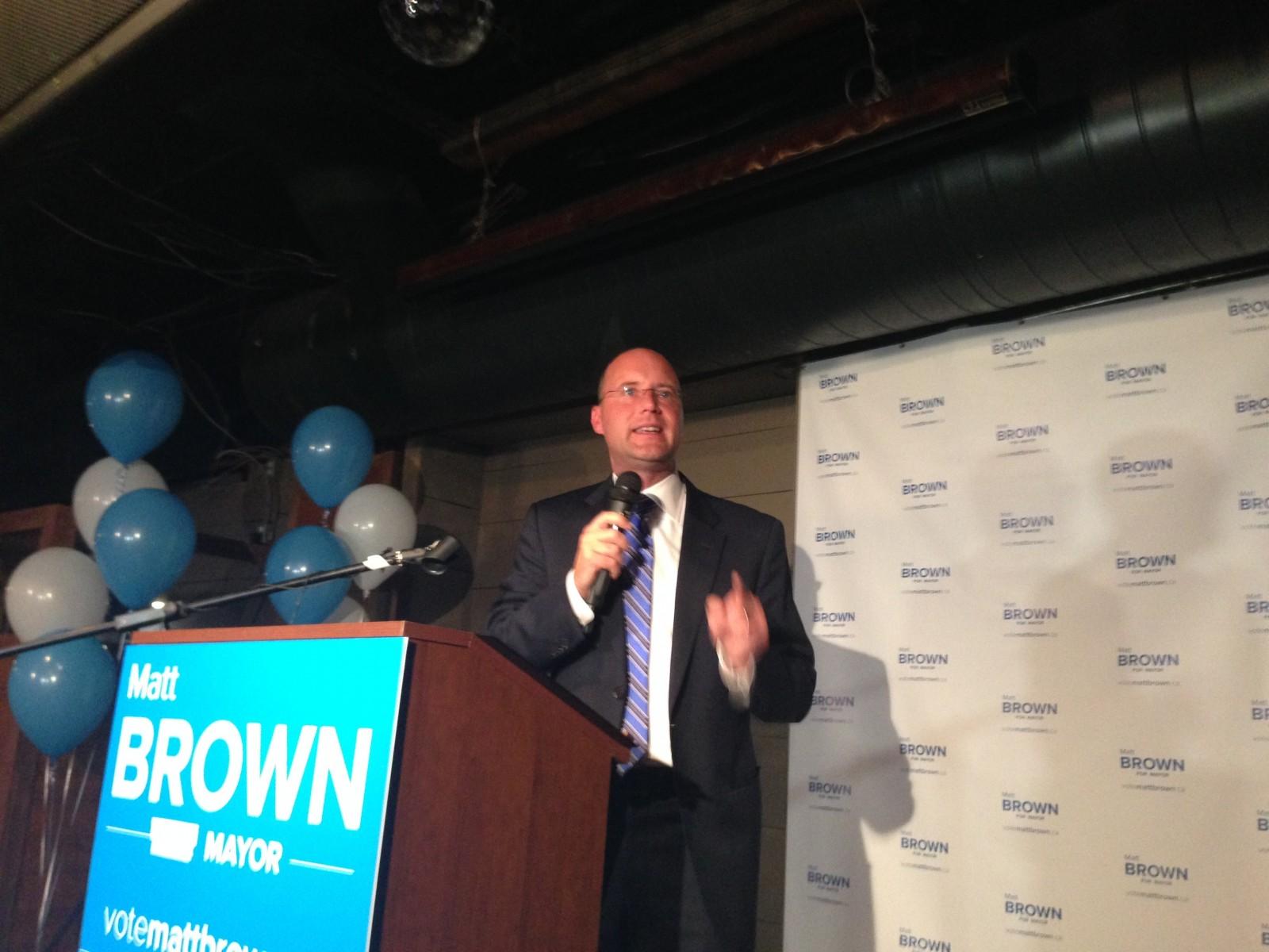 Matt Brown elected new Mayor of London