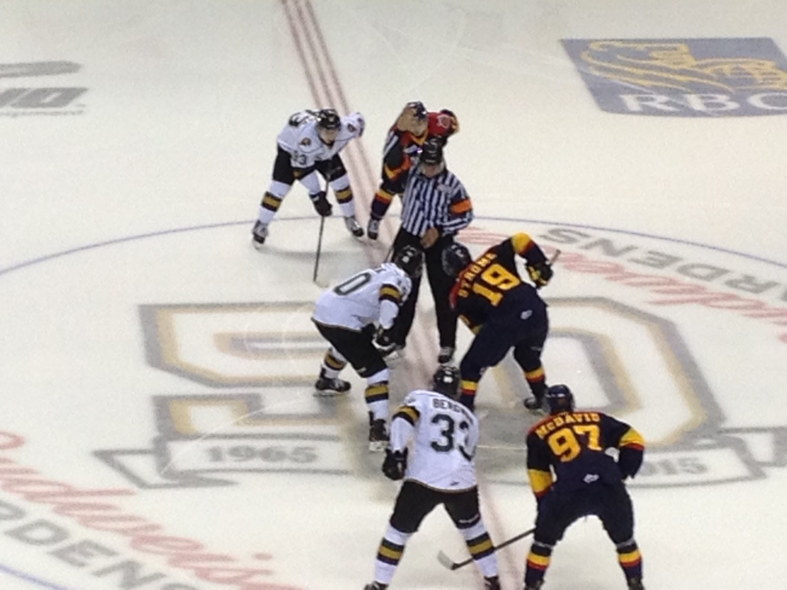 Knights upset Otters in shootout