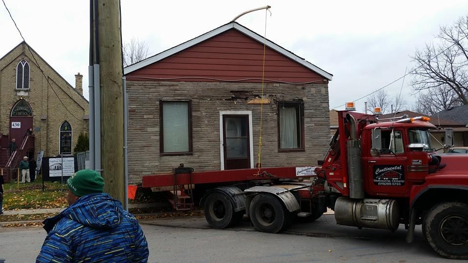 Fugitive slave house moves