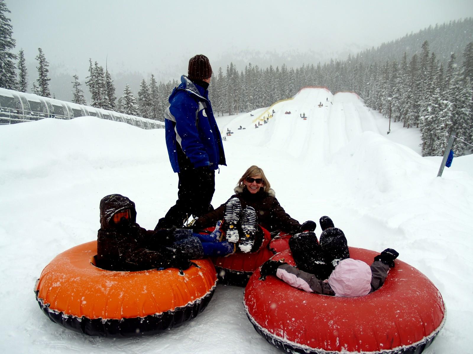 From 'no fun' to 'snow fun'
