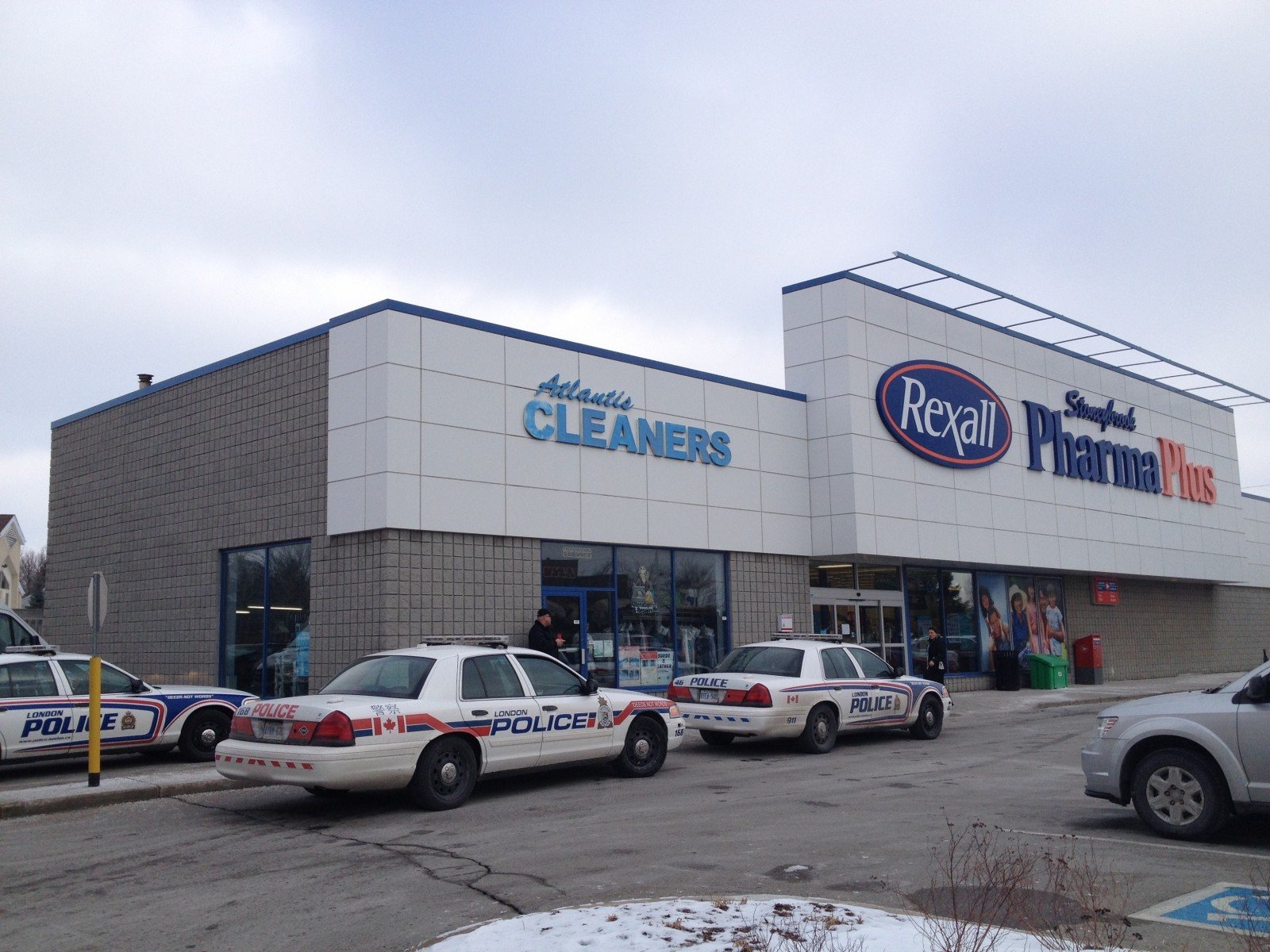 Charges laid in pharmacy robbery, botched getaway