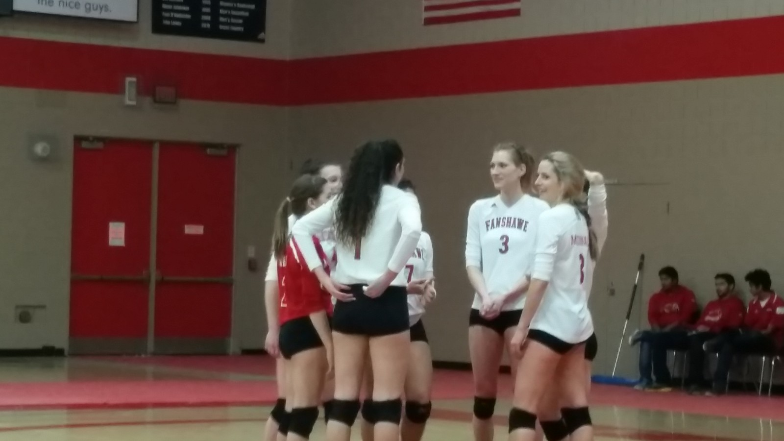 Fanshawe volleyball loses heart breakers
