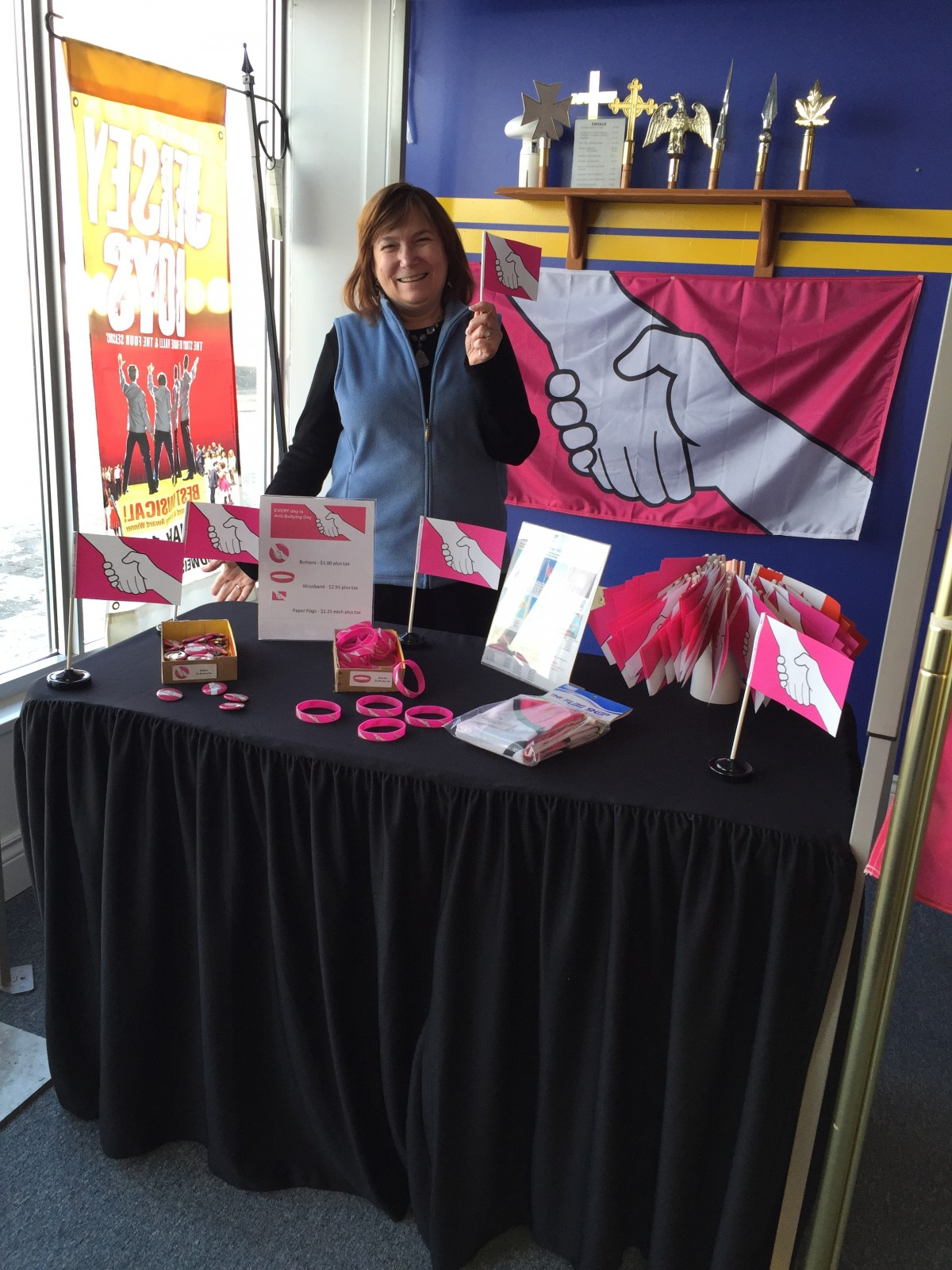The Flag Shop adds new merchandise in support of anti-bullying