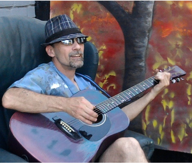 A local artist is relying on online royalties