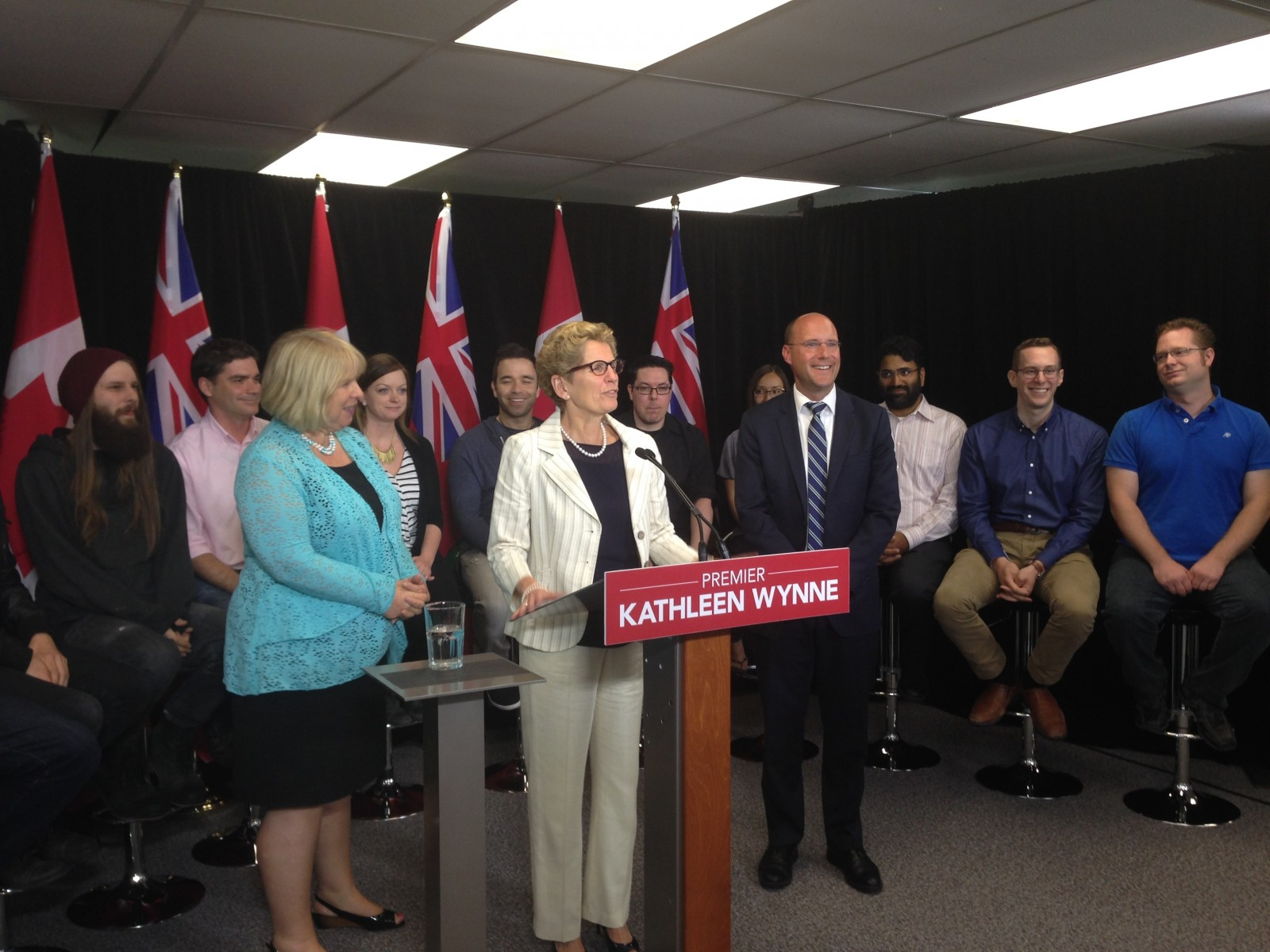 Premier Kathleen Wynne spends Wednesday in London