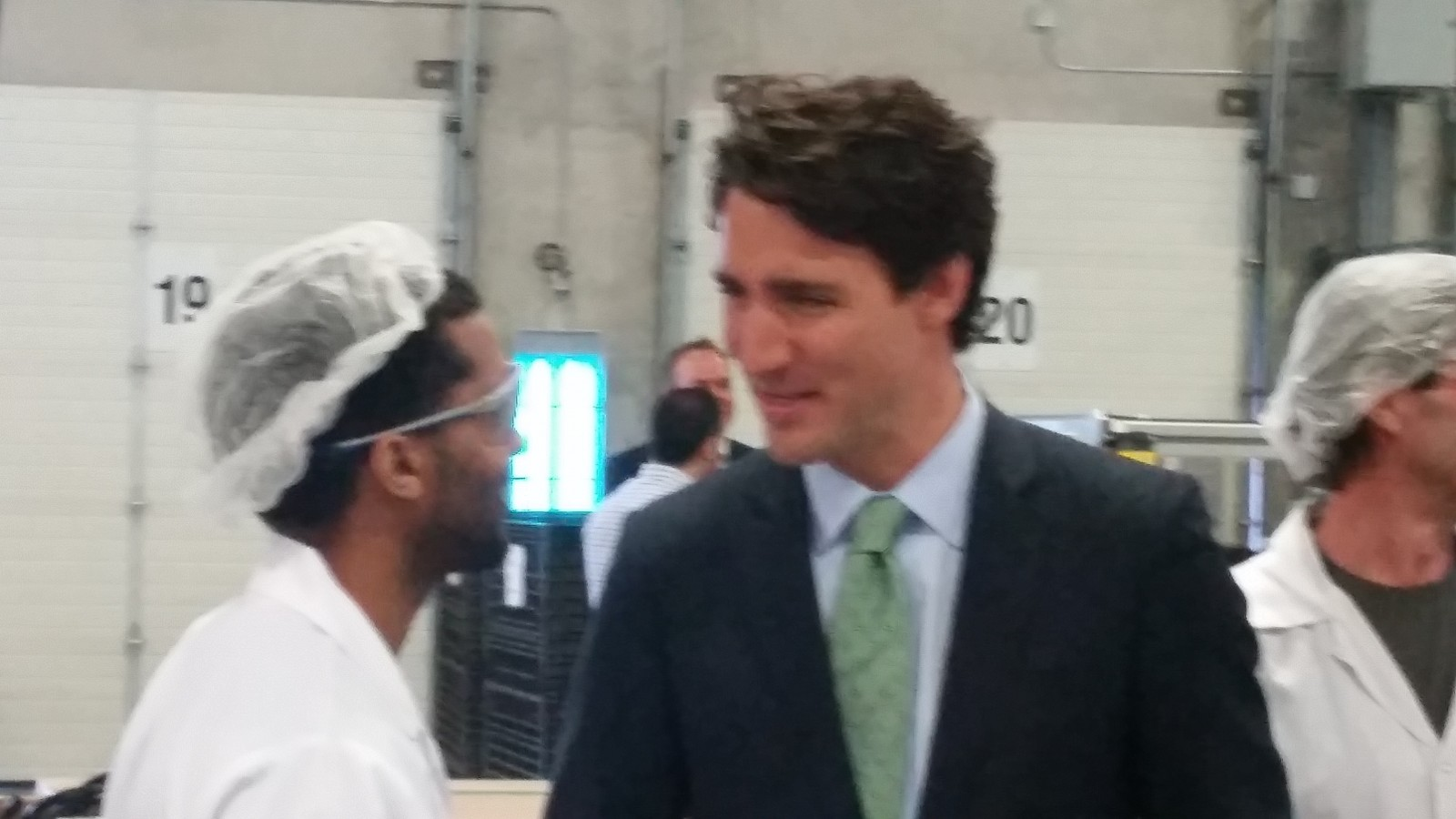 """Justin Trudeau makes stop in London talking about """"Clean Energy Reform"""""""