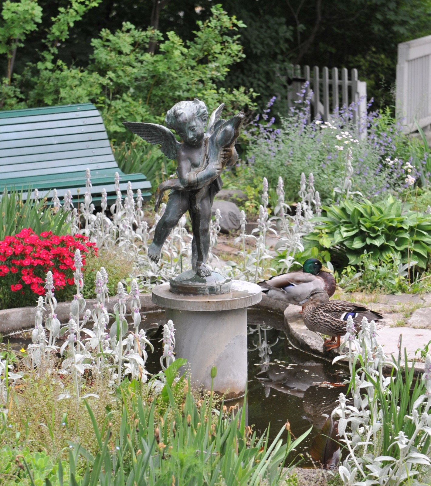 Eldon House Statue still missing