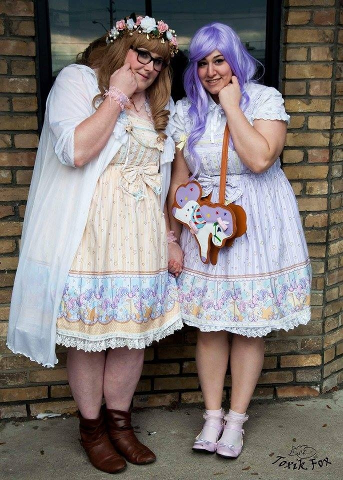 Lolita Fashion takes over the Central Public Library
