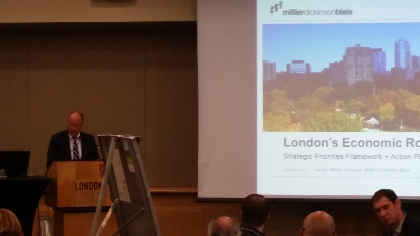 London almost finished its economic road map