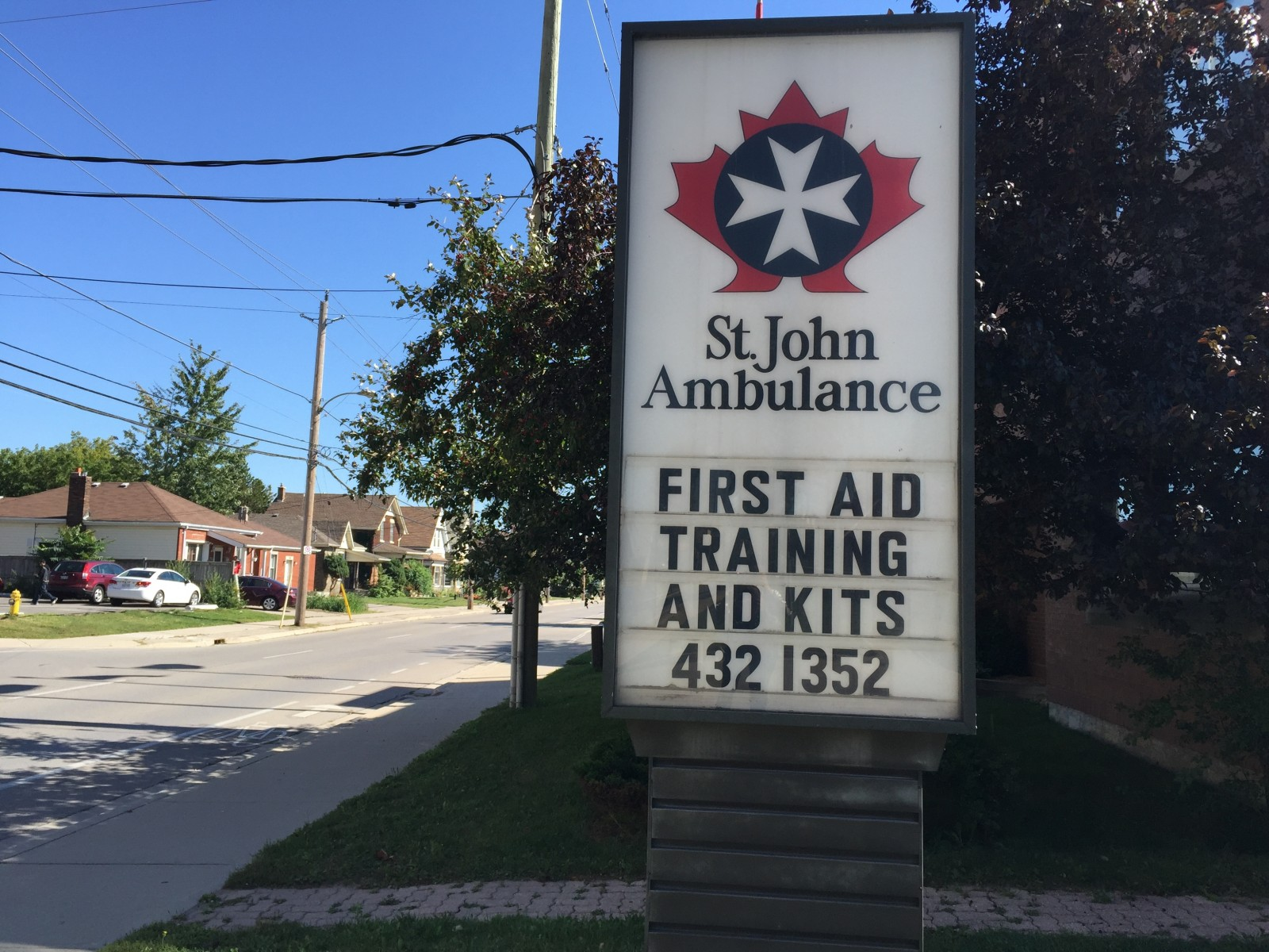 St. John's Ambulance pet first aid training