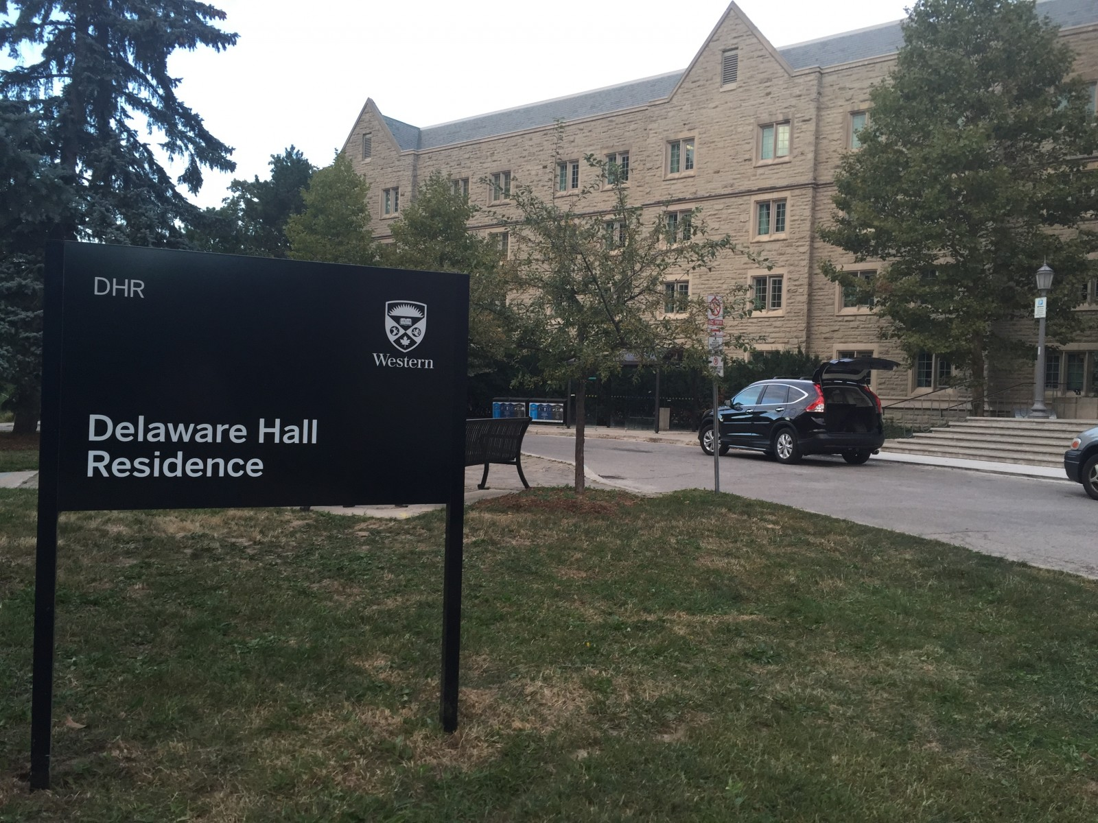 Delaware Hall just turned 50