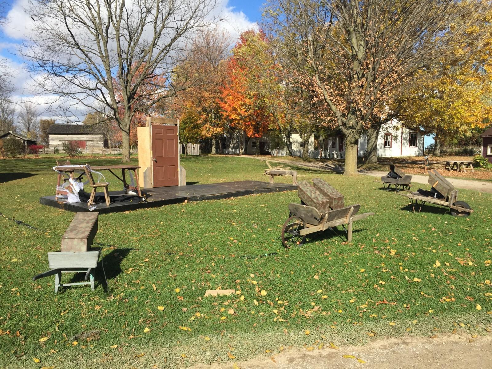 Fanshawe pioneer village hosting annual haunted hayride