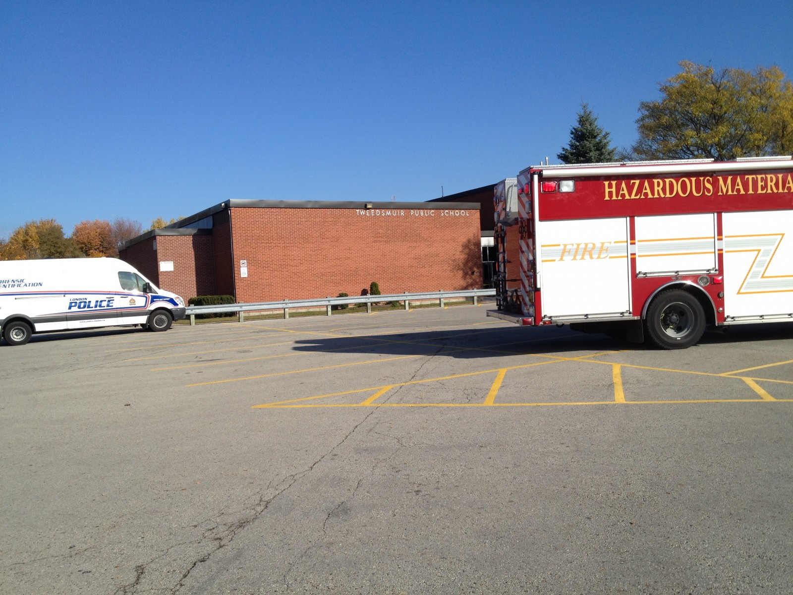 Police investigating break and enter at a south east public school