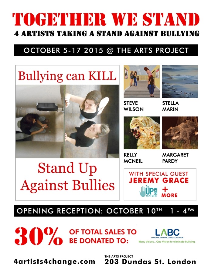 Artists take a stand against bullying