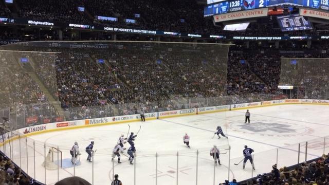 Toronto Maple Leafs Goal vs the Washington Capitals