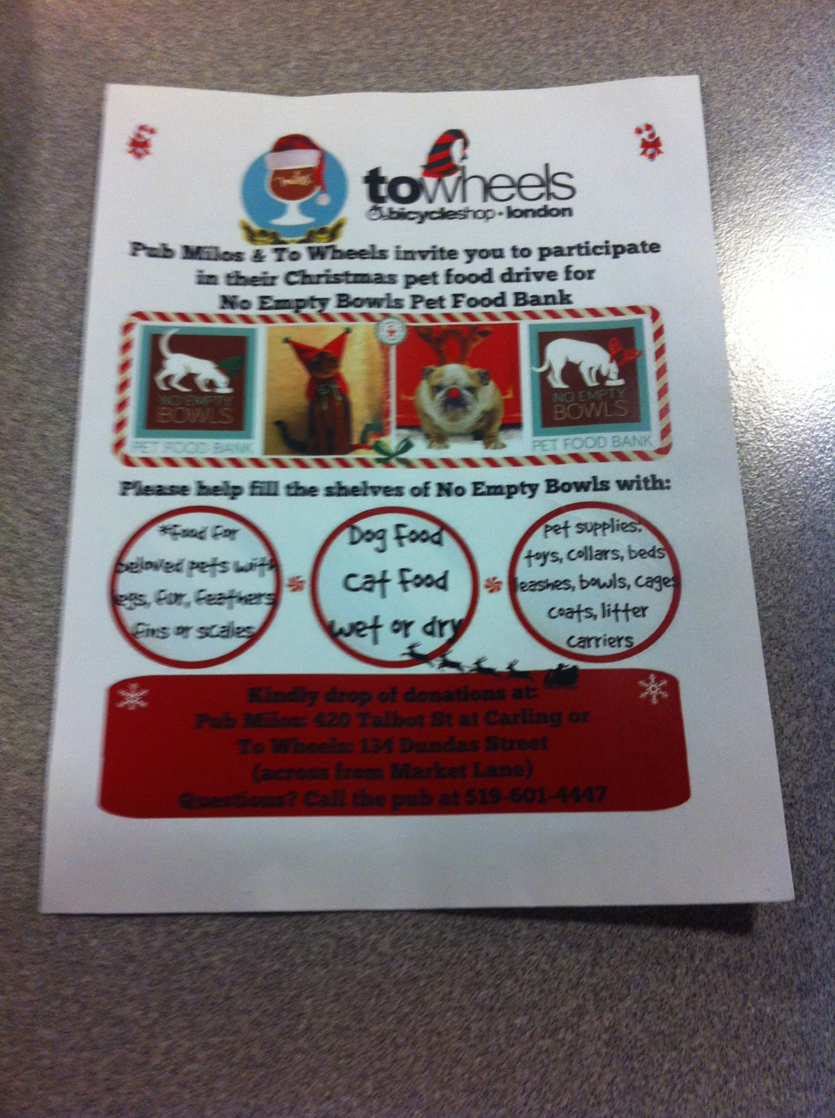 Local couple delivers pet food to owners in need