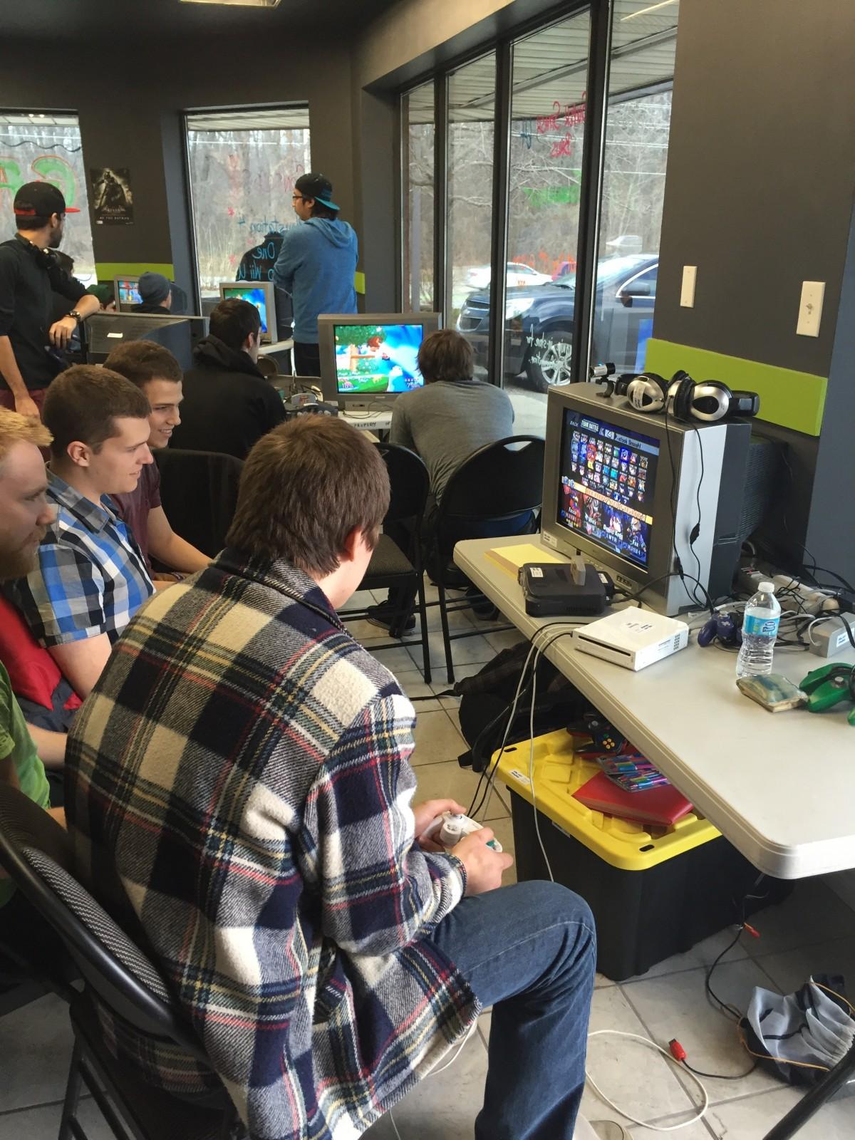 Super Smash Brothers at Gamerz Block