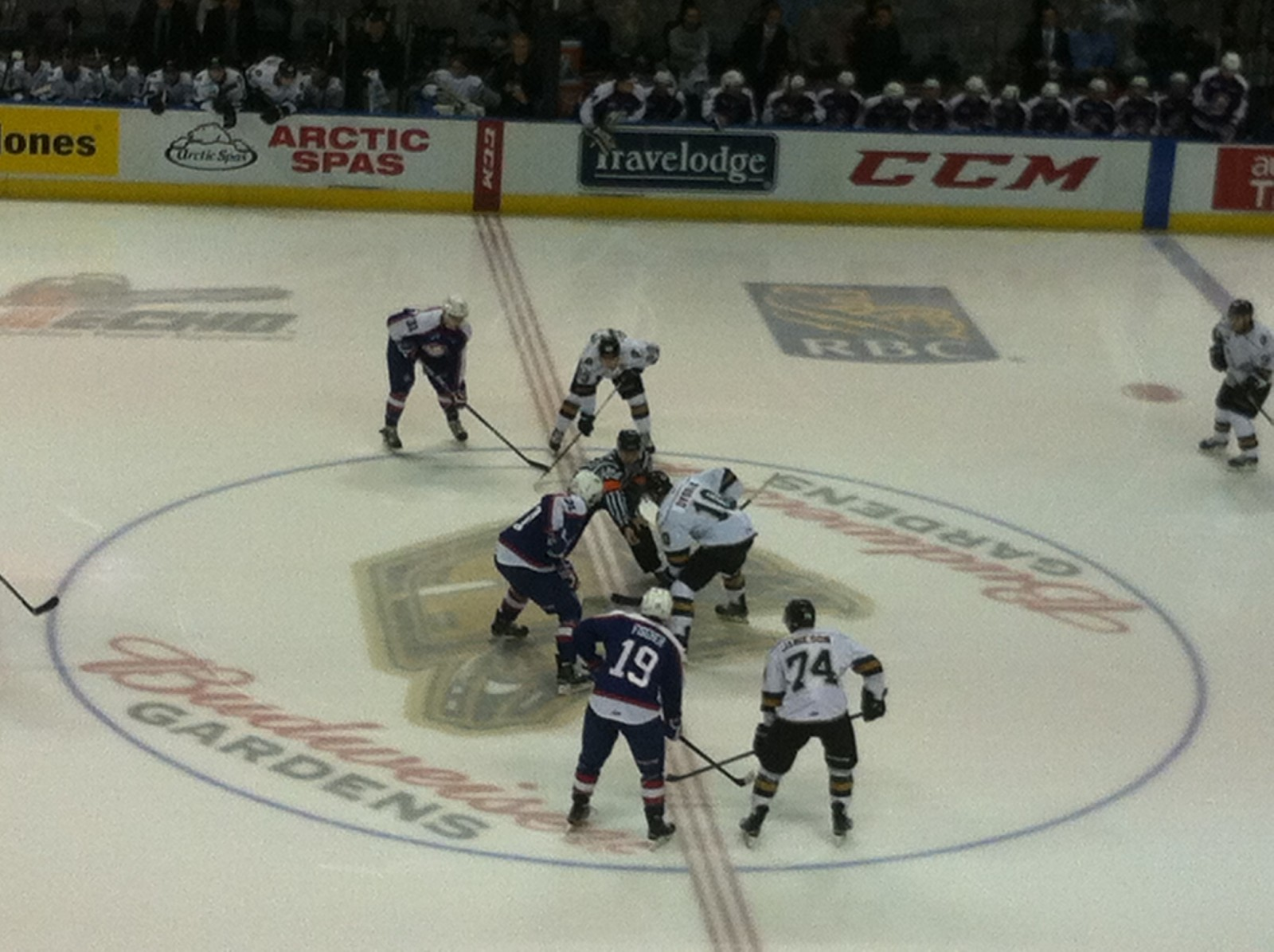 Knights take down the Spitfires