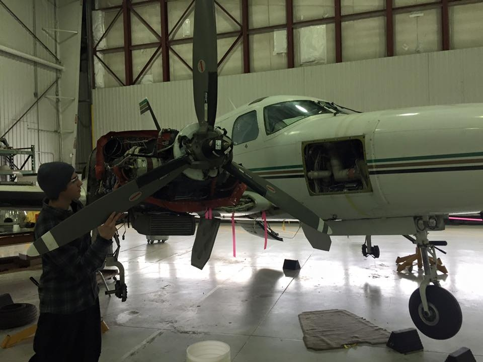 Return of the London Air Show has Fanshawe aviation student's engines roaring