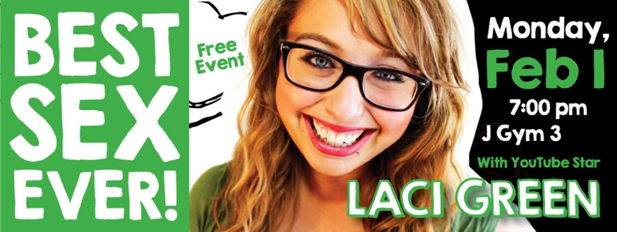 Youtube star Laci Green to visit Fanshawe College and bring students the 'Best Sex Ever'