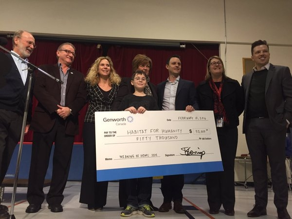 11-year old London poet wins $50,000 for Habitat For Humanity