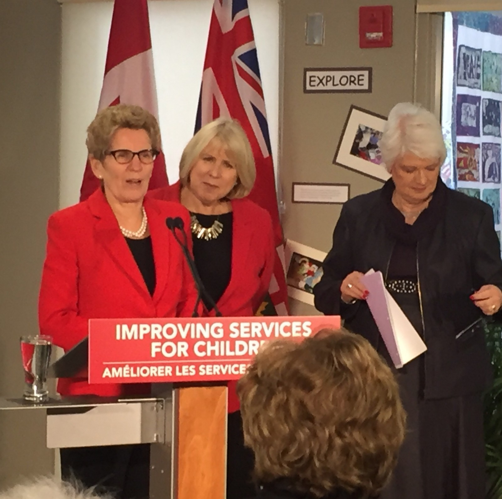 Premier visits London to announce new services for younger families