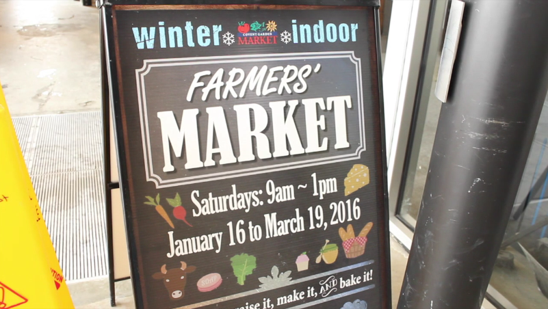 Farmer's markets combat the cold