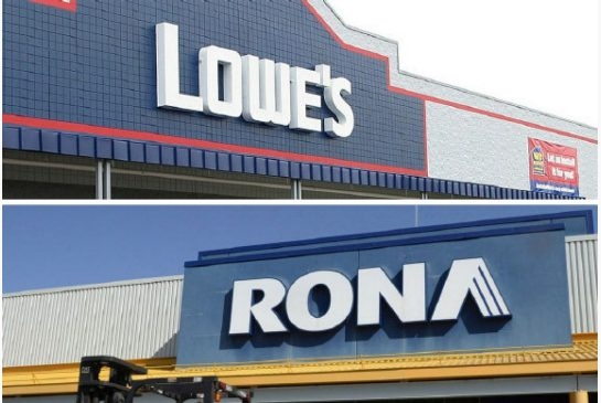 Lowe to buy Rona
