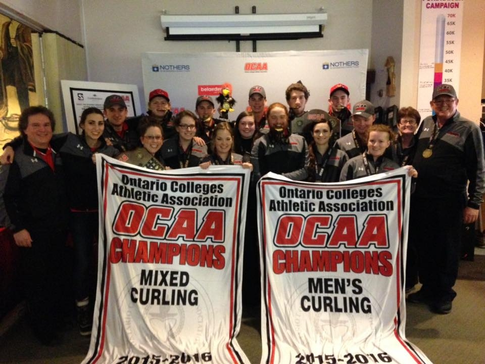 Fanshawe's curlers sweep their way into national championship