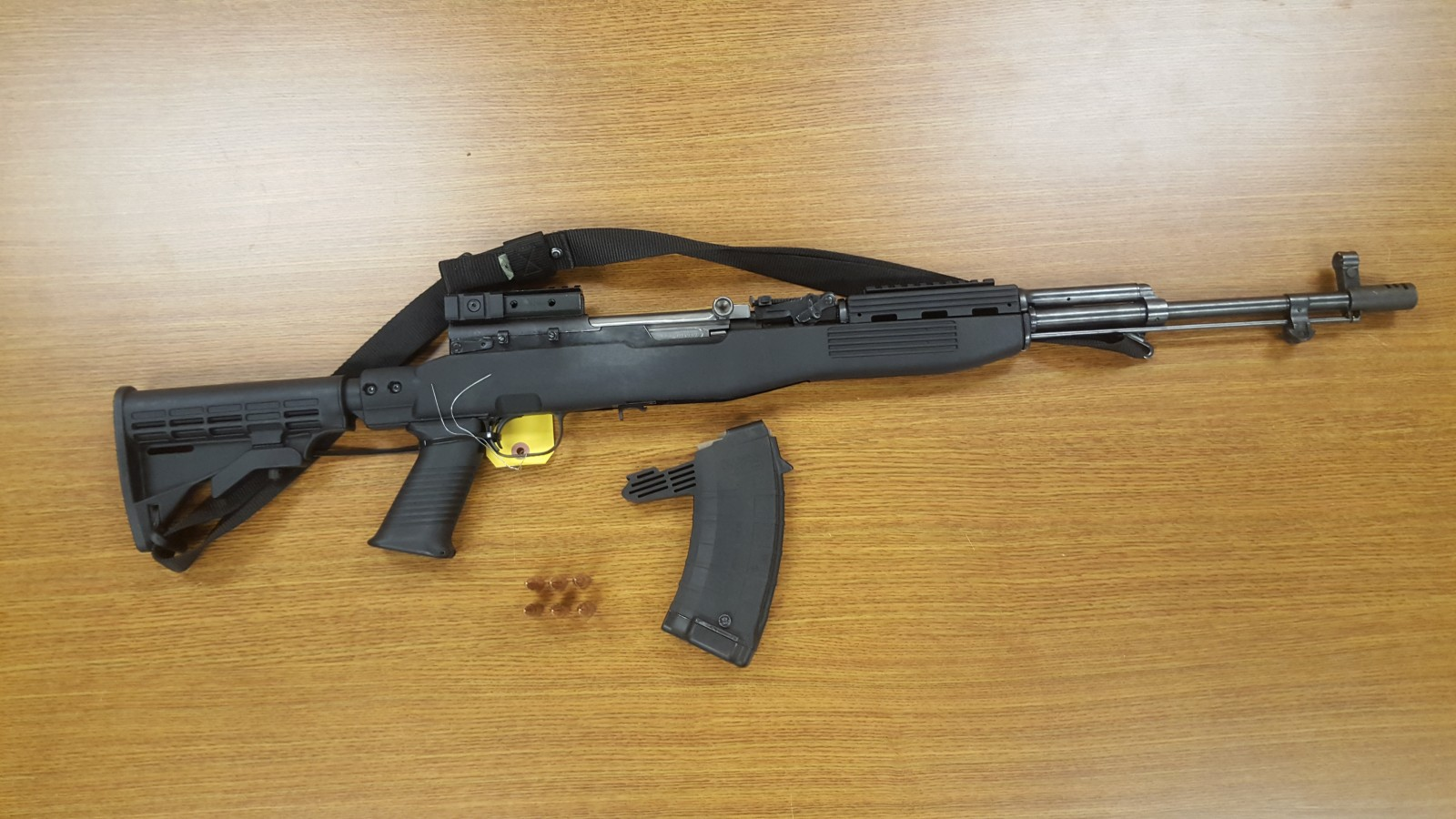 London man faces charges for having a semi-automatic rifle at his house