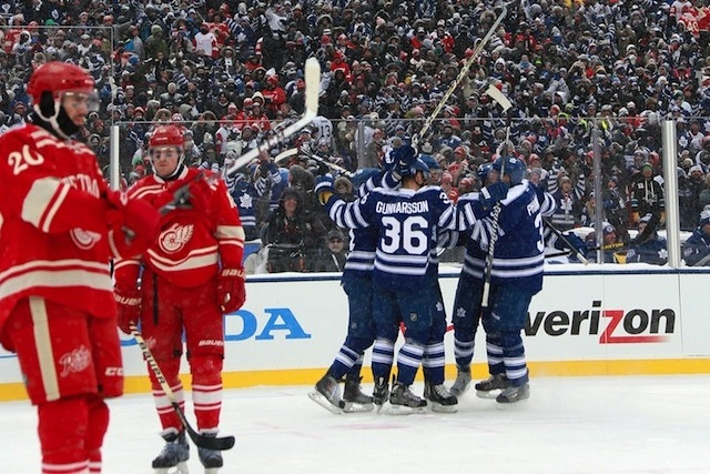 Leafs and Wings will face off in first ever Centennial game