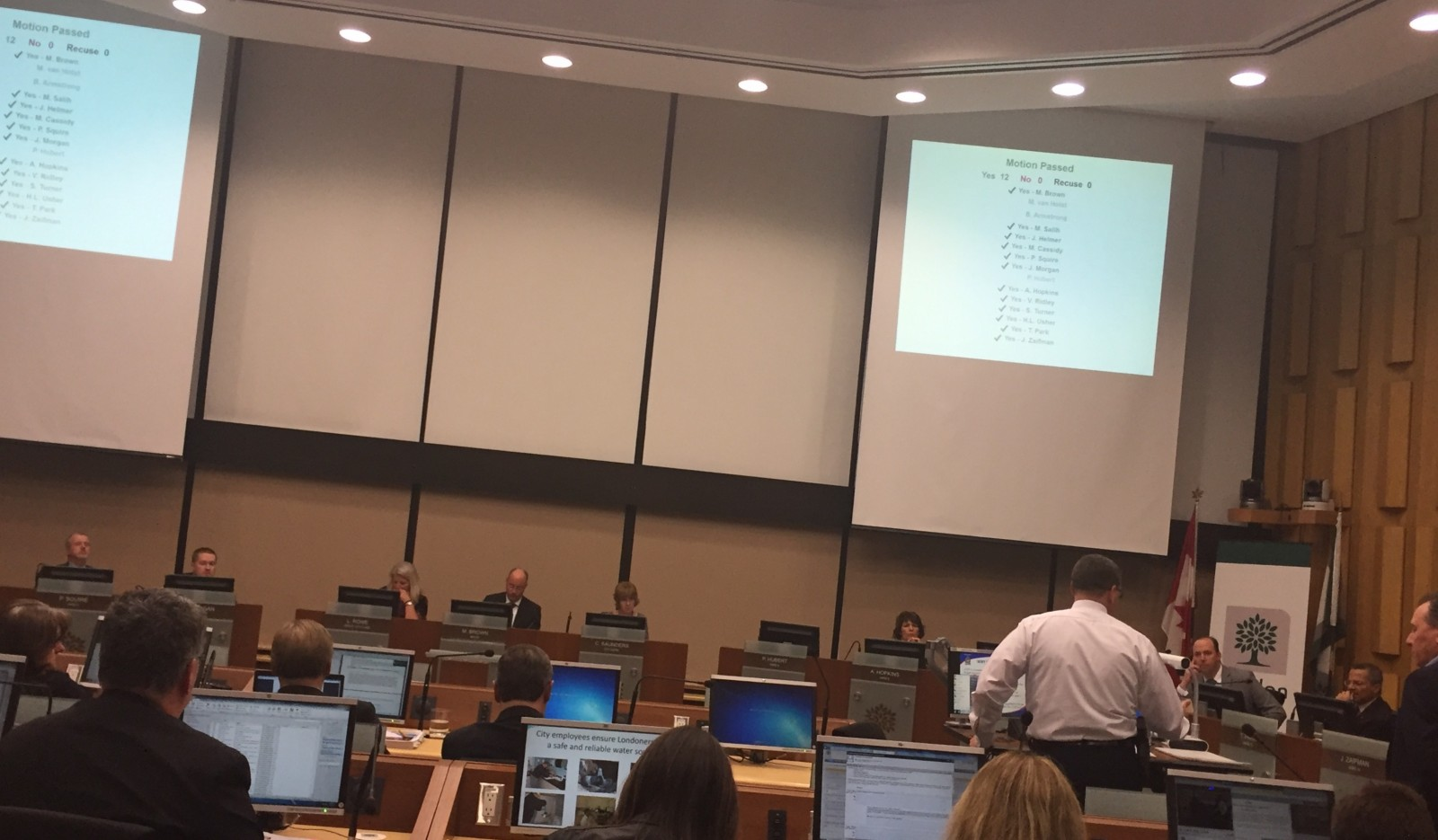 Police bring budget to Council for a second time