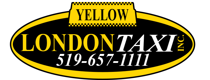 Yellow London Taxi Logo