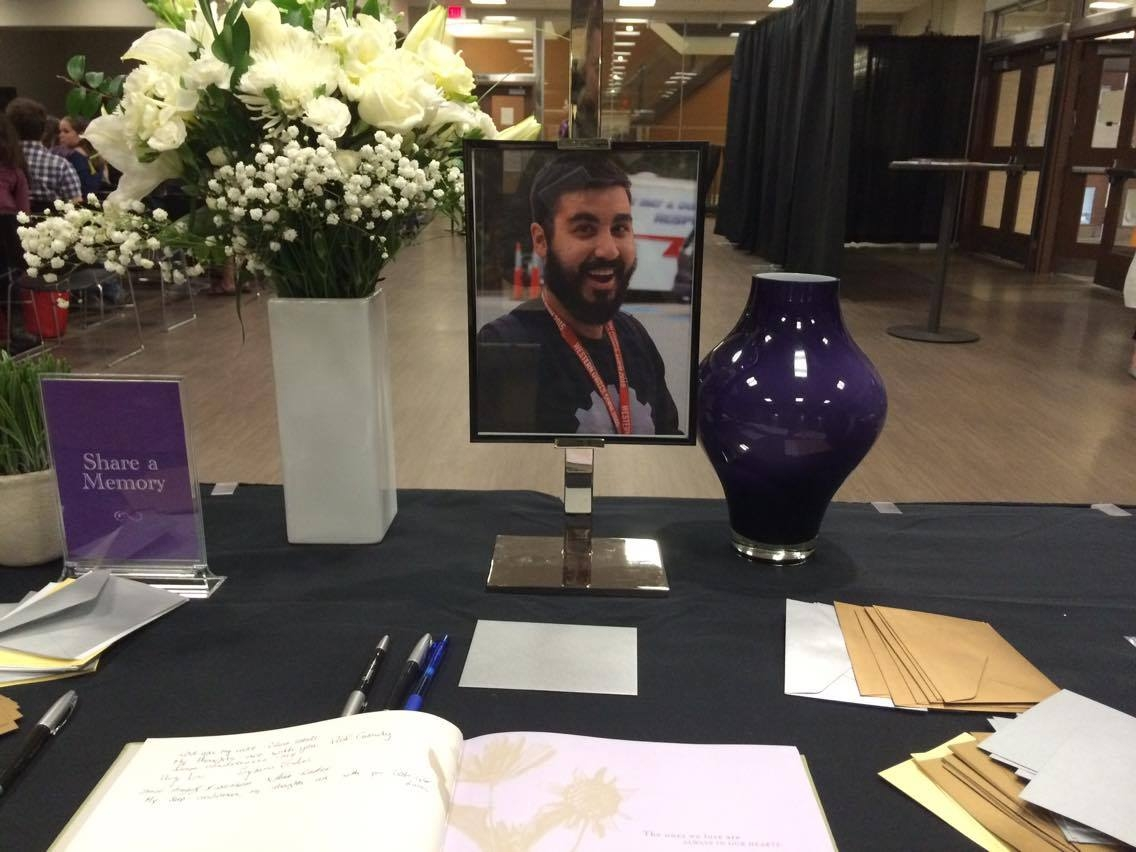 Dozens mourn death of Western University student